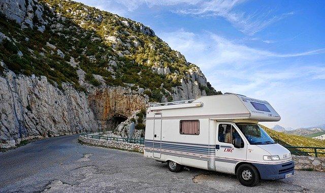 mobilní dům v horách