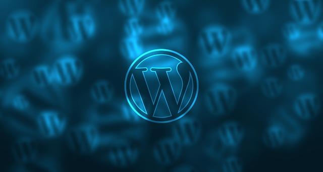 wordpress pozadí